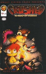 CRUSHED: THE DOOMED KITTY ADVENTURES REMIX #1 (2009) (Bros. Grinn, Dutch)