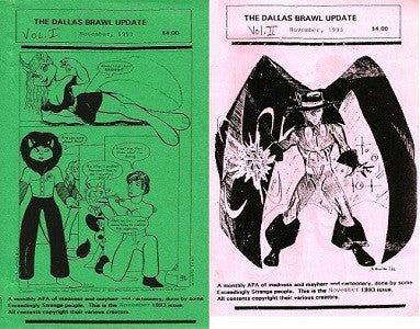 DALLAS BRAWL UPDATE 1993 11/November Vol. 1 & 2 (digests) (1)