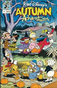DISNEY'S AUTUMN ADVENTURES #2 (1991) (1)