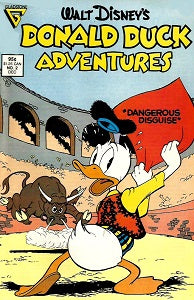 DONALD DUCK ADVENTURES (Gladstone) #2 (1987) (1)