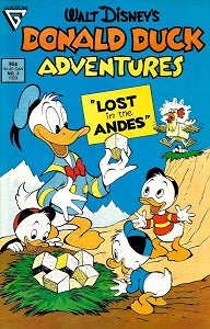 DONALD DUCK ADVENTURES (Gladstone) #3 (1988) (1)