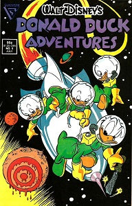 DONALD DUCK ADVENTURES (Gladstone) #5 (1988) (1)