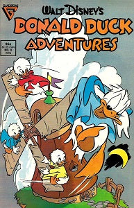 DONALD DUCK ADVENTURES (Gladstone) #6 (1988) (1)