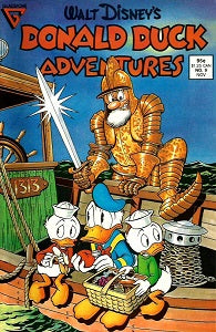 DONALD DUCK ADVENTURES (Gladstone) #9 (1988) (1)