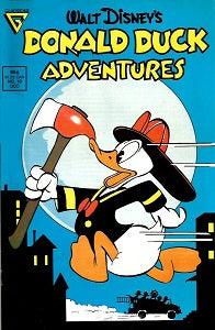 DONALD DUCK ADVENTURES (Gladstone). #10 (1988) (1)