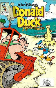 DONALD DUCK ADVENTURES (W.D. Publications) #3 (1990) (1)