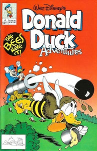DONALD DUCK ADVENTURES (W.D. Publications) #4 (1990) (1)
