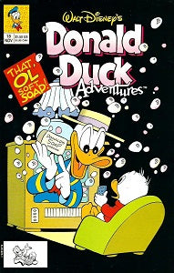 DONALD DUCK ADVENTURES (W.D. Publications). #18 (1991) (1)