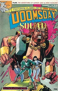 DOOMSDAY SQUAD #5, The (1986) (with CAPTAIN JACK by Mike Kazaleh)
