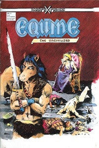 EQUINE THE UNCIVILIZED #2 (1986) (Groat & Konkle)