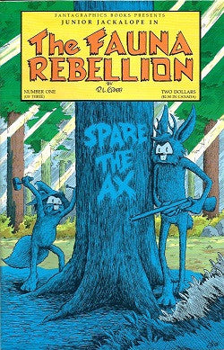 FAUNA REBELLION #1 (of 3), The (1990) (R.L. Crabb) (1)