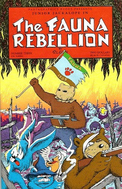 FAUNA REBELLION #3 (of 3), The (1990) (R.L. Crabb) (1)