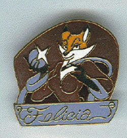 FELICIA Cloisonne Pin (mid-1990's)