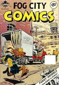 FOG CITY COMICS #1 (1977) (DAMAGED) (1)