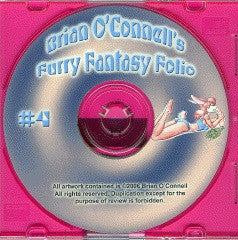 FURRY FANTASY FOLIO #4 CD-ROM (2006) (Brian O'Connell)