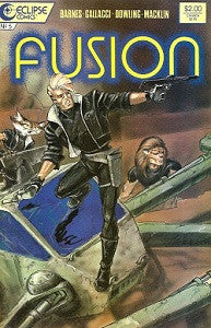 FUSION #5 (1987) (Barned, Gallacci, Dowling, Macklin)