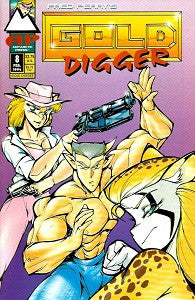 GOLD DIGGER Vol. 1 #8 (1994) (Fred Perry)