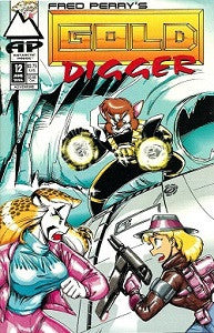 GOLD DIGGER Vol. 1. #12 (1994) (Fred Perry)