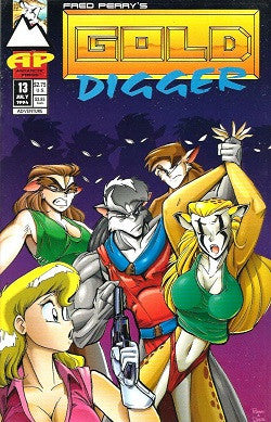 GOLD DIGGER Vol. 1. #13 (1994) (Fred Perry) (1)
