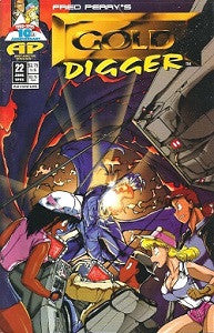GOLD DIGGER Vol. 1. #22 (1995) (Fred Perry)