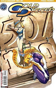 GOLD DIGGER. Vol. 2 #50 (2004) (Fred Perry)