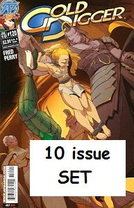 GOLD DIGGER. Vol. 2 #111 through #120 SET (2009/2010) (Fred Perry)