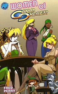 WOMEN OF GOLD DIGGER Collected Volume (2015) (Fred Perry)