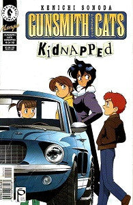 GUNSMITH CATS: KIDNAPPED #4 (of 10) (2000) (Kenichi Sonoda) (DAMAGED) (1)