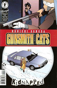 GUNSMITH CATS: KIDNAPPED. #10 (of 10) (2000) (Kenichi Sonoda) (DAMAGED, 99 cents) (1)