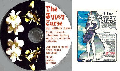 GYPSY CURSE CD-ROM (2009) (novel by Wm. Levy)