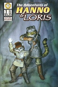 ADVENTURES OF HANNO & LORIS #1, The  (2004) (Brock Hoagland)