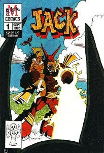 JACK #1 (by M Comics) (1995) (Strait & Foster) (NOT A JACK SALEM TITLE)