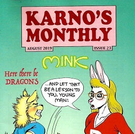 KARNO'S MONTHLY.. #23 (August 2019, published February 2020)