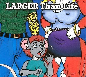 LARGER THAN LIFE CD-ROM (Zephery Hughes) (2012)
