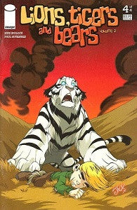 LIONS, TIGERS AND BEARS Vol. 2 #4 (of 4) (2007) (Bullock & Lawrence) (1)
