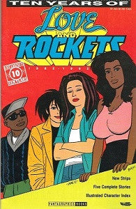 LOVE AND ROCKETS: Ten years of (1992) (1)