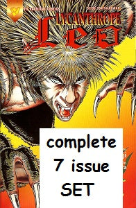 LYCANTHROPE LEO #1 through #7 complete SET (1994) (Kaji & Okamura) (1)