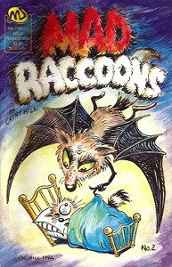 MAD RACCOONS. #2 (1992) (Cathy Hill)