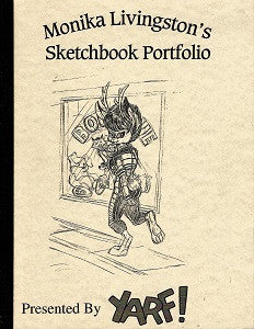MONIKA LIVINGSTON'S SKETCHBOOK PORTFOLIO (1993) (1)