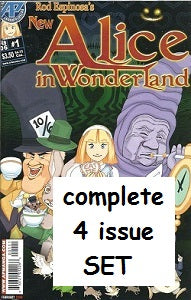New ALICE IN WONDERLAND #1,2,3,4 SET (2006) (Rod Espinosa) (1)