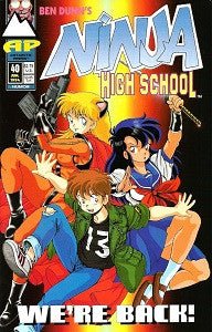 NINJA HIGH SCHOOL. #40 (Antarctic) (1994) (Ben Dunn) (1)