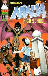 NINJA HIGH SCHOOL. #41 (Antarctic) (1994) (Mallette & Dunn) (1)