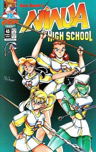 NINJA HIGH SCHOOL. #45 (Antarctic) (1995) (Fred Perry) (1)