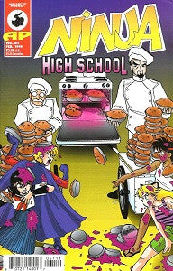 NINJA HIGH SCHOOL. #61 (Antarctic) (1998) (Mallette & Henry) (1)