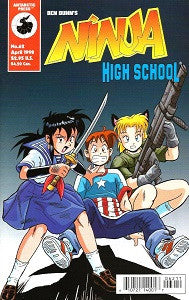 NINJA HIGH SCHOOL. #62 (Antarctic) (1998) (Mallette & Espinosa) (1)