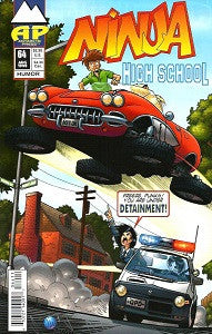 NINJA HIGH SCHOOL. #64 (Antarctic) (1998) (Mallette & Espinosa) (1)