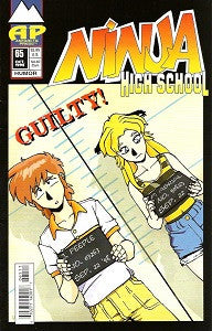 NINJA HIGH SCHOOL. #65 (Antarctic) (1998) (Mallette & Espinosa) (1)