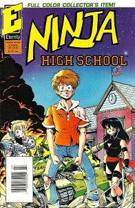NINJA HIGH SCHOOL #3 (in Color) (1992) (Ben Dunn) (1)
