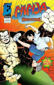 NINJA HIGH SCHOOL #7 (in Color) (1993) (Hanrahan & Dunn) (1)