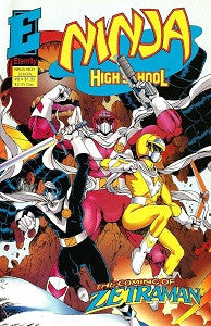 NINJA HIGH SCHOOL #8 (in Color) (1993) (Hanrahan & Dunn) (1)